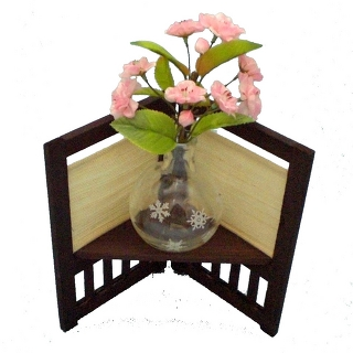 Japanese style mini flower stand