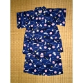 JINBEI for kids, moon sakura rabbit blue