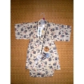 JINBEI for boys, dragon - white