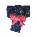 YUKATA set for girl, easy to wear type
