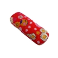 Glasses case, Japanese style, red